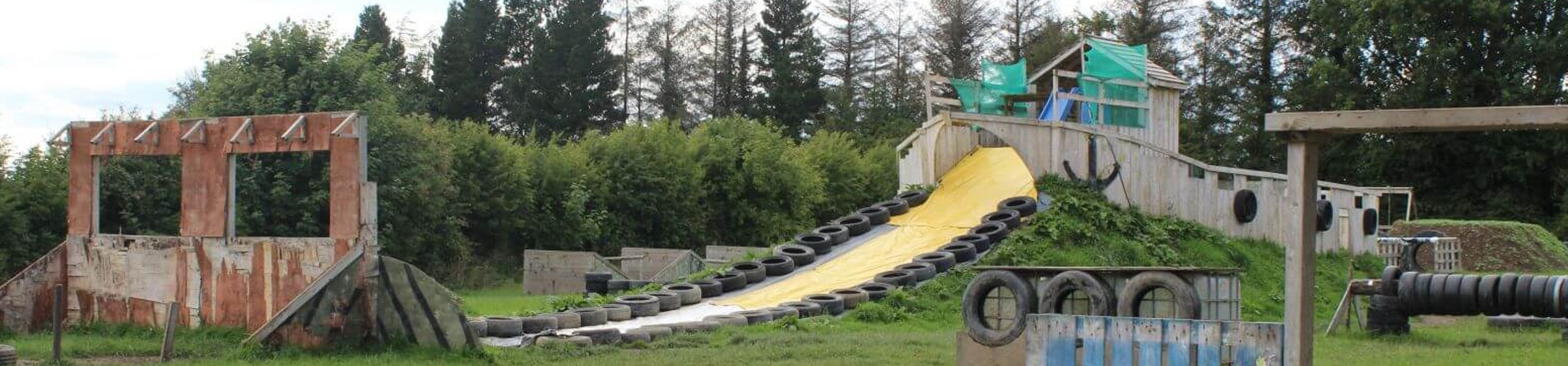 Assault Course Slide