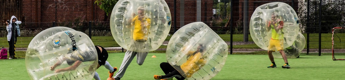Bubble Football activity