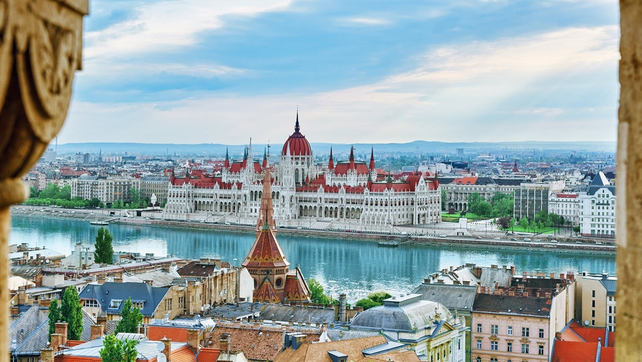 Buildings in Budapest