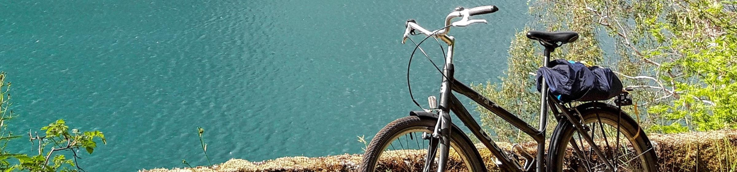 Bike in a sunny region