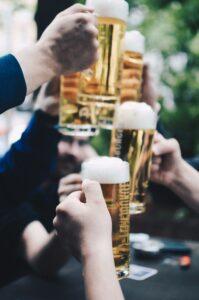 Pints of beer